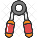 Hands Gripper Exercise Icon