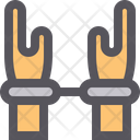 Hand Handcuffs Icon