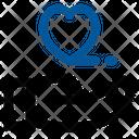 Hand Heart Hand Love Icon