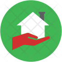 Hand Holding House Icon