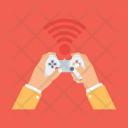 Wireless Joystick Operating Icon