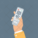 Hand Holding Remote Icon