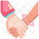 Hand In Hand Hand In Hand Together Icon