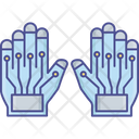 Hand In Vr Icon