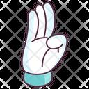 Hand Indicator Hand Gesture Hand Signal Icon