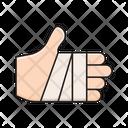 Hand Bandage Plaster Icon