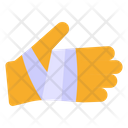 Hand Cut Hand Injury Medical Treatment Icon