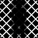 Hand Inside Pocket Man Standing Icon