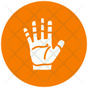Hand Interaction Communication Icon
