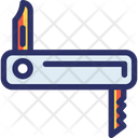 Hand Knife Adventure Camp Icon