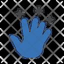 Hand Magic Trick Icon