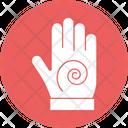 Hand Massage Hand Reflexology Palm Therapy Icon