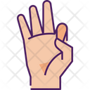 Hand Mudra Icon