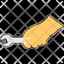 Mechanic Hand Of Mechanic Worker Icon