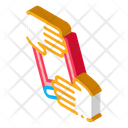 Hand Over Book Icon