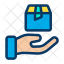 Hand Package Icon