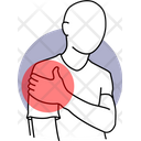 Hand Pain Hand Injured Bicep Pain Icon