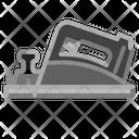 Clock Measurement Stop Icon
