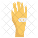 Hand Bandage Hand Plaster Hand Pain Icon