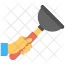 Hand Plunger Icon