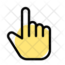 Hand Pointing Up Icon