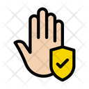 Hand Protection Safety Icon