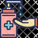 Sanitizer Becteria Corona Icon