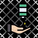 Sanitize Hand Liquid Icon