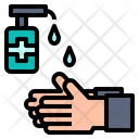 Hand Gel Clean Icon