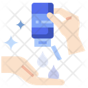 Hand Sanitize Virus Alcohol Icon