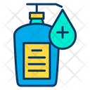 Hand Sanitizer Liquid Medicine Icon