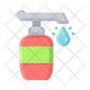 Coronavirus Antiseptic Soap Icon