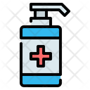 Hand Sanitizer Soap Icon