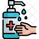 Hydroalcoholic Gel Alcohol Gel Hand Sanitizer Icon