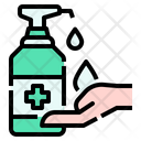 Protection Hand Wash Cleaning Icon