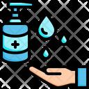 Hand Sanitizer Hand Wash Hygiene Icon