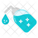 Hand Sanitizer Hygiene Coronavirus Icon