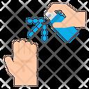 Spray Medical Hands Icon
