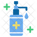Hand Sanitizer Alcohol Prevention Icon