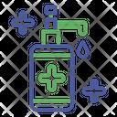 Outline Color Covid Icon