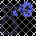 Corona Virus Covid 19 Icon