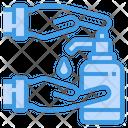 Hand Sanitizing Hand Sanitizer Sanitizer Icon