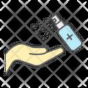 Hand Sanitizer Hygiene Icon