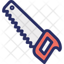 Carpentry Construction Hand Saw Icon