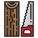 Hand Saw Carpentry Tool Icon