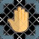 Hand Scanning Icon