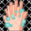 Cleaning Coronavirus Hand Icon