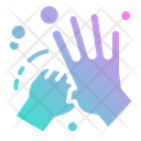 Cleaning Hands Clean Icon