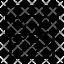 Pin Fabric Craft Icon