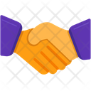 Partnership Deal Handshake Icon